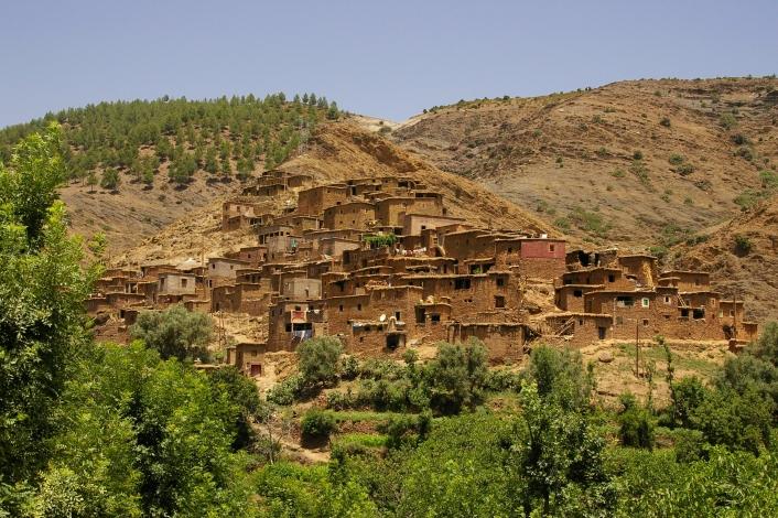 berbere - Akal Amazigh Berbere Land Img1080-ourika_berbere_village